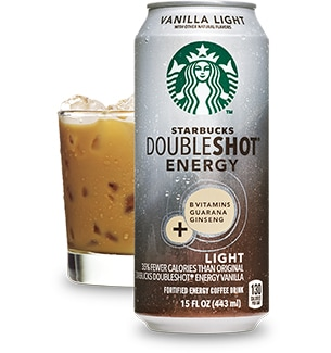 Starbucks Doubleshot Energy Vanilla Light