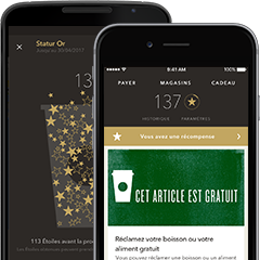 iOS Starbucks App