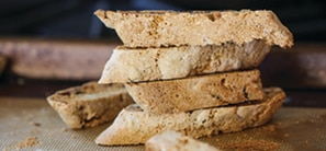 Whole Wheat Cranberry Pecan Biscotti