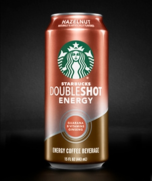 Starbucks Doubleshot 174 Energy Hazelnut Drink Starbucks