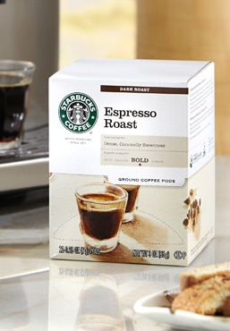 Espresso Roast Coffee Pods