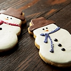 Frosted Snowman Cookie