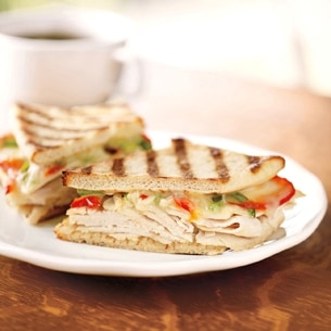 Red Chile Chicken Panini Recipes — Dishmaps