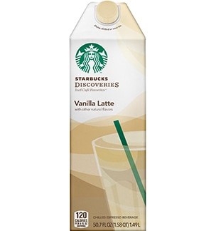 Starbucks® Discoveries-Vanilla Latte