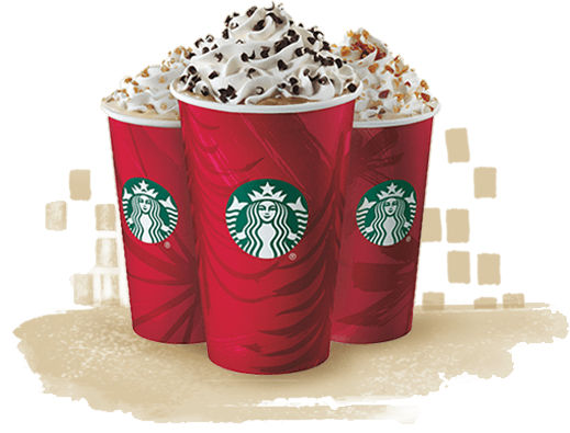Starbucks Red Cups and Holiday Beverages