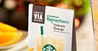 Valencia Orange Starbucks VIA Refreshers™ Instant Beverage