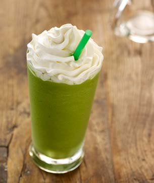Green Tea Frappuccino® Blended Crème