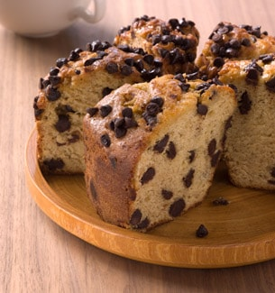 Reduced-Fat Banana Chocolate Chip Coffee Cake | Starbucks Coffee ...