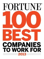 Fortune 100 Best Companies to Work For 2013