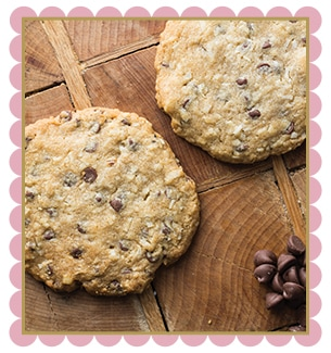 Walnut, Coconut, and Milk Chocolate Chip Cookie