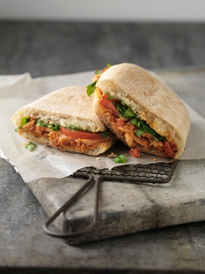 Roasted Chicken and Tomato Panini