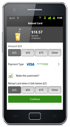 Reload your card, set up autopay and more.