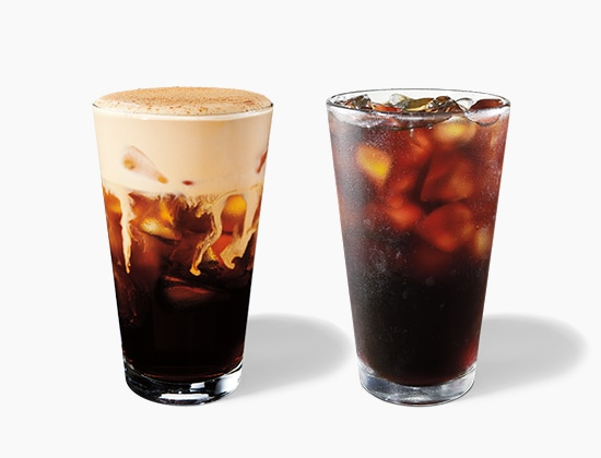 Starbucks® Cold Brew and Pumpkin Cream Cold Brew