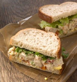 Chicken Cobb Salad Sandwich