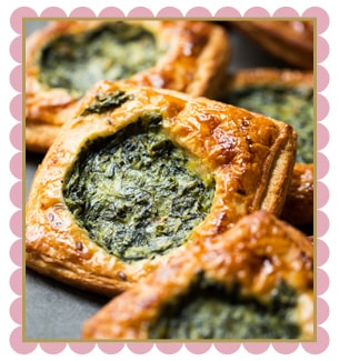 Wheat Spinach Croissant