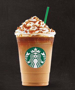 Caramel Ribbon Crunch Frappuccino® Blended Coffee