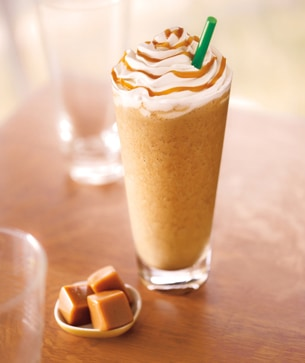 Buttery caramel syrup meets coffee, milk and ice for a rendezvous in ...