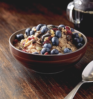Hearty Blueberry Oatmeal