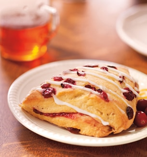 Starbucks cranberry orange scone