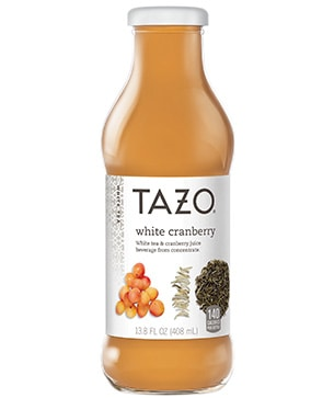 Tazo® Bottled White Cranberry