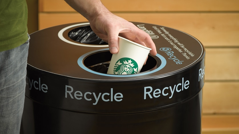 Recycling & Reducing Waste| Starbucks Coffee Company | Starbucks ...
