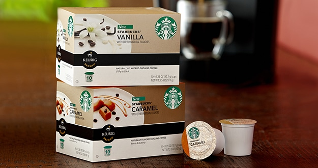 Caramel K-Cup® Packs and Vanilla K-Cup® Packs