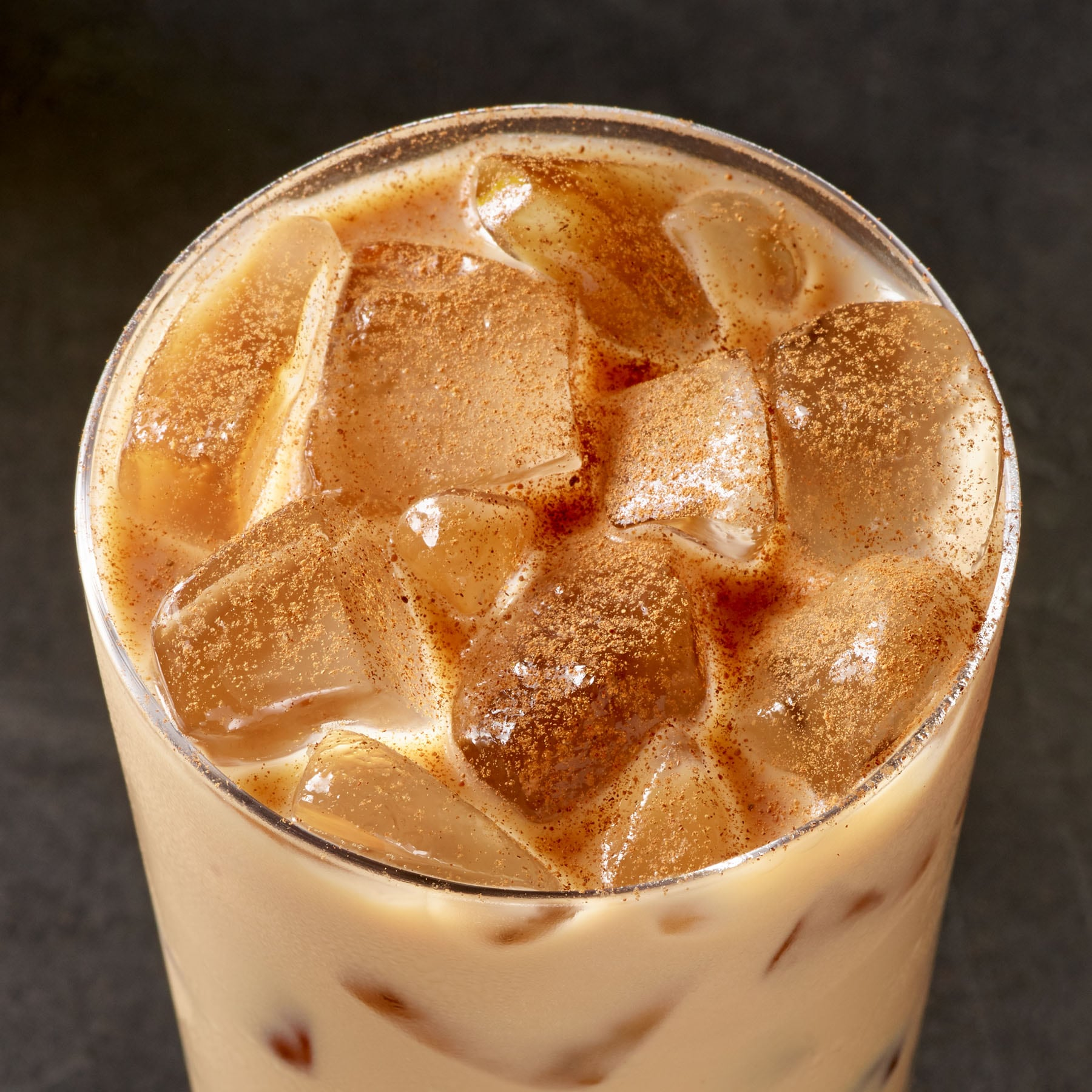 Iced Starbucks® Blonde Cinnamon Shortbread Latte