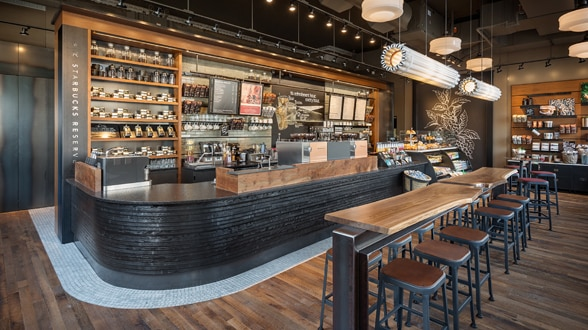 Manufactured goods starbucks coffee company for Kitchen library portland