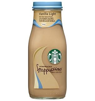 Starbucks 174 Bottled Vanilla Light Frappuccino 174 Coffee Drink