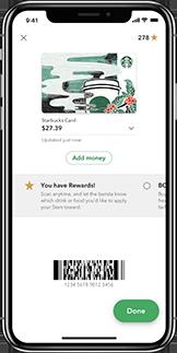 Mystarbucks Iphone App Starbucks Coffee Company