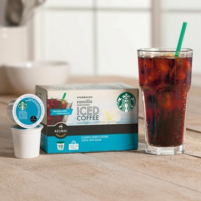 Iced Coffee K Cups Starbucks Coffee Company