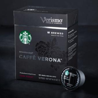 Starbucks® Caffè Verona® Brewed Coffee Verismo® Pods