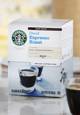 Decaf Espresso Roast Coffee Pods