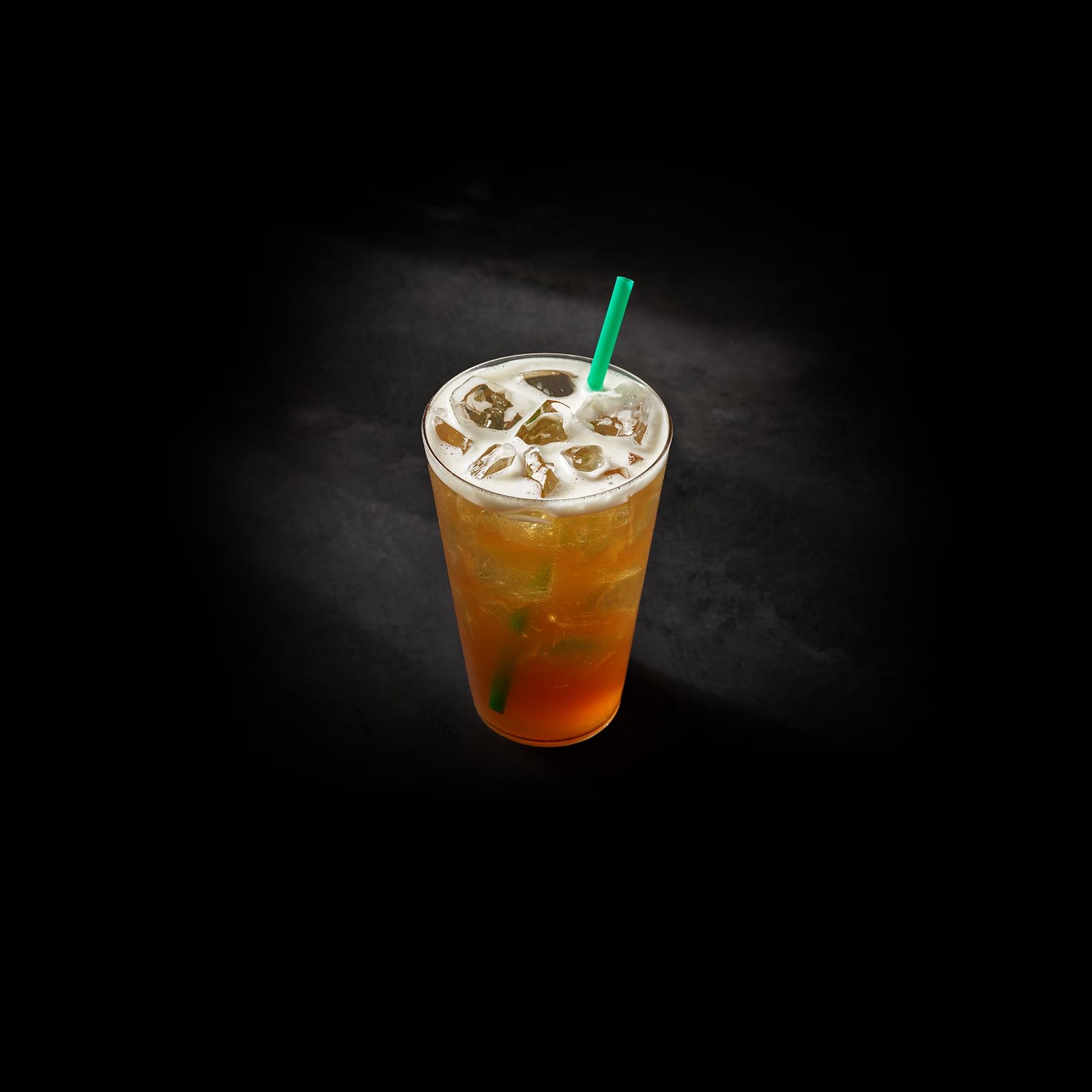 Teavana Shaken Pineapple Black Tea Infusion Starbucks Coffee Company