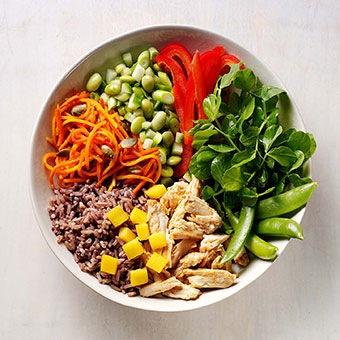 Buttermilk Chicken Mango Salad