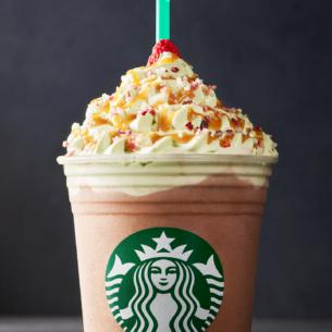 Christmas Tree Frappuccino Blended Creme Starbucks Coffee Company