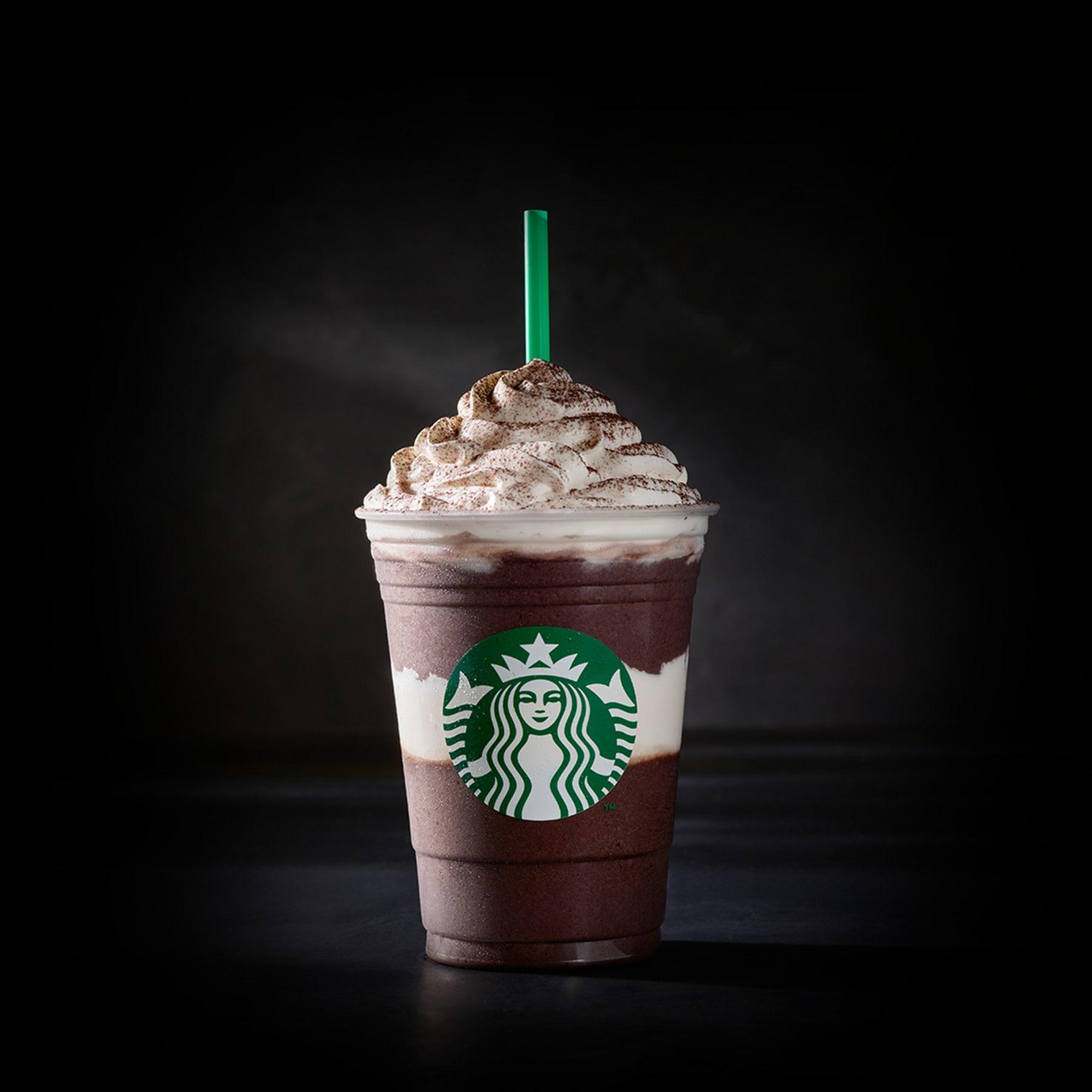 Midnight Mint Mocha Fruccino Blended Coffee