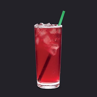 Iced Shaken Blackberry Mojito* Tea Lemonade