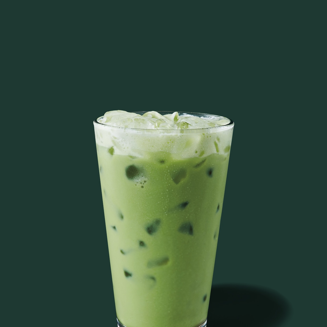 Starbucks Iced Green Tea Latte Recipe Card