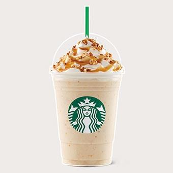 Mini Caramel Popcorn Coffee Frappuccino®