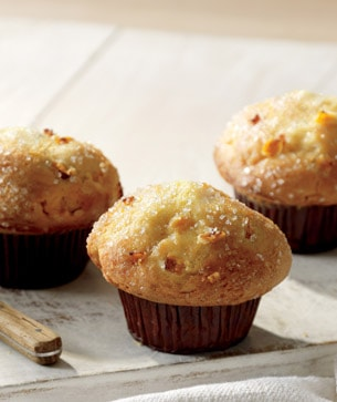 Peaches & Cream Muffin
