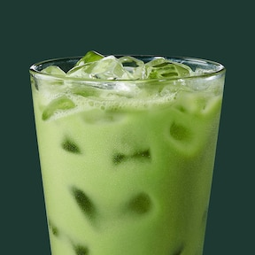 Iced Pineapple Matcha Drink