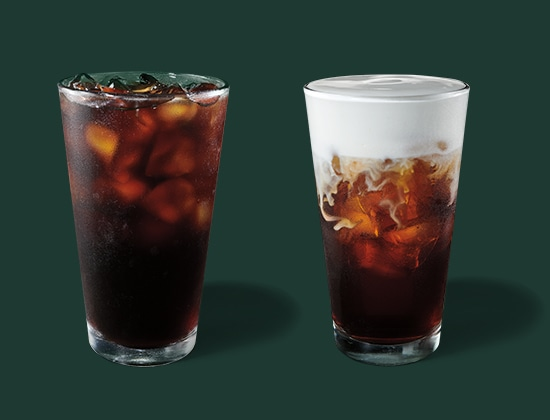 Starbucks Cold Brew and Cold Brew with Salted Cream Cold Foam