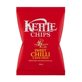 Kettle Chips Sweet Chili and Sour Cream