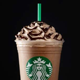 Molten Chocolate Frappuccino Blended Beverage Starbucks