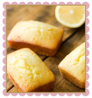 Lemon Vanilla Loaf Cake