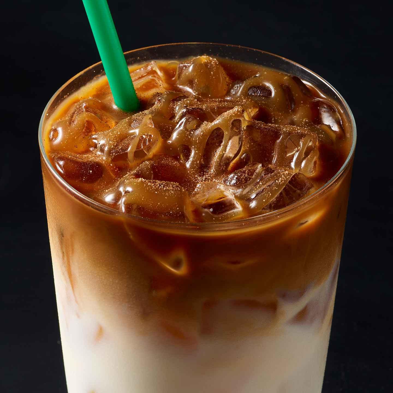 Iced Cinnamon Almondmilk Macchiato Starbucks Coffee Company