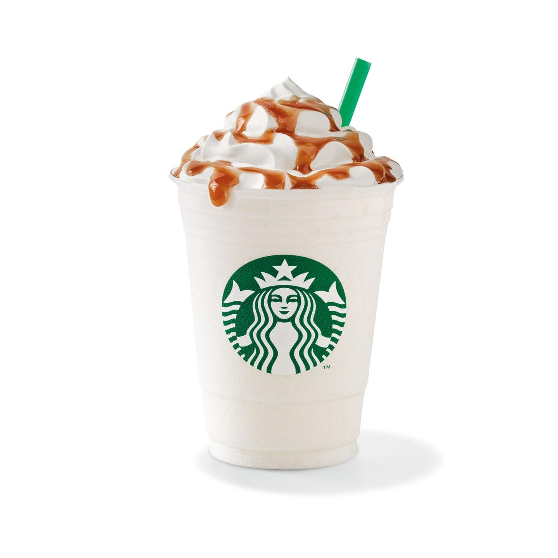 Caramel Cream Frappuccino Starbucks