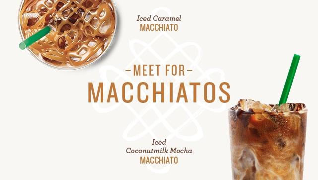 Starbucks Macchiato: Buy 1, get 2nd free