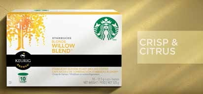 K cup pods starbucks coffee company starbucks willow blend colourmoves